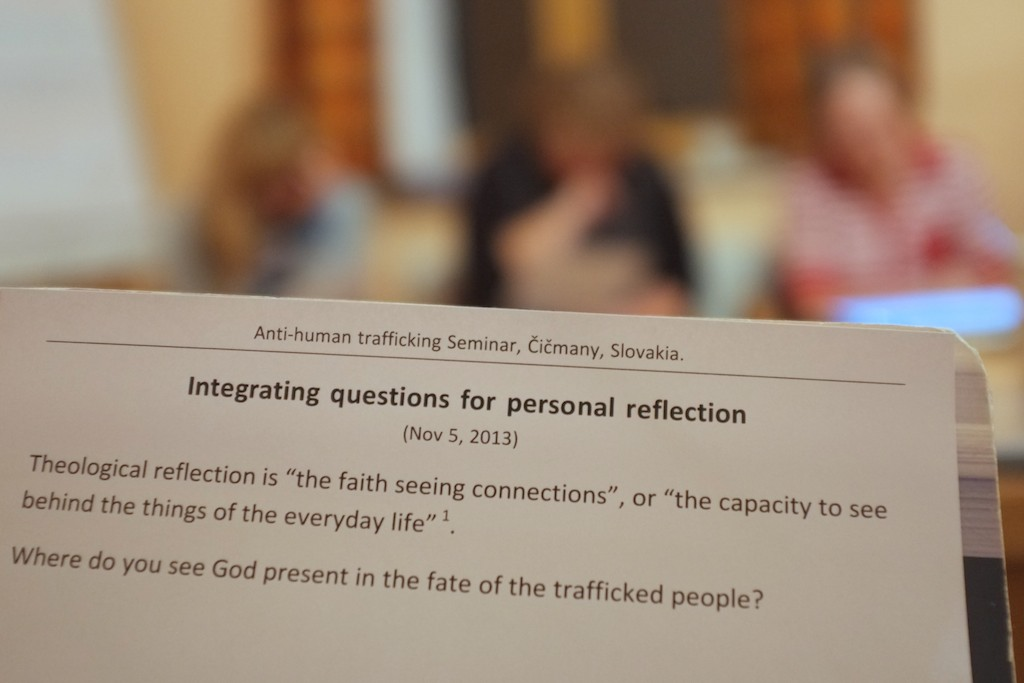 Integrating questions for personal reflection