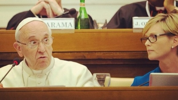 Pope Francis at the Vatican Conference