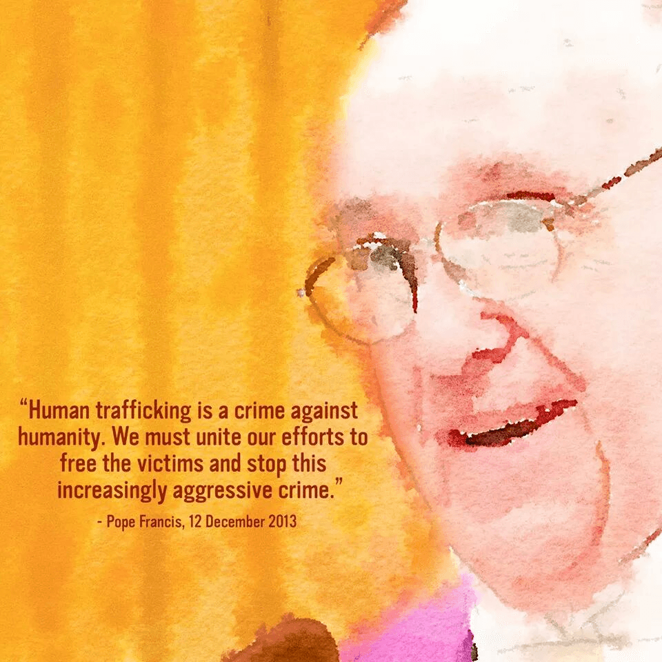 Pope Francis about Human Trafficking on 12th December 2013