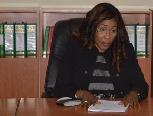 Ms. Julie Okah-Donli, new Director General of the National Agency for the Prohibition of Trafficking in Persons (NAPTIP)
