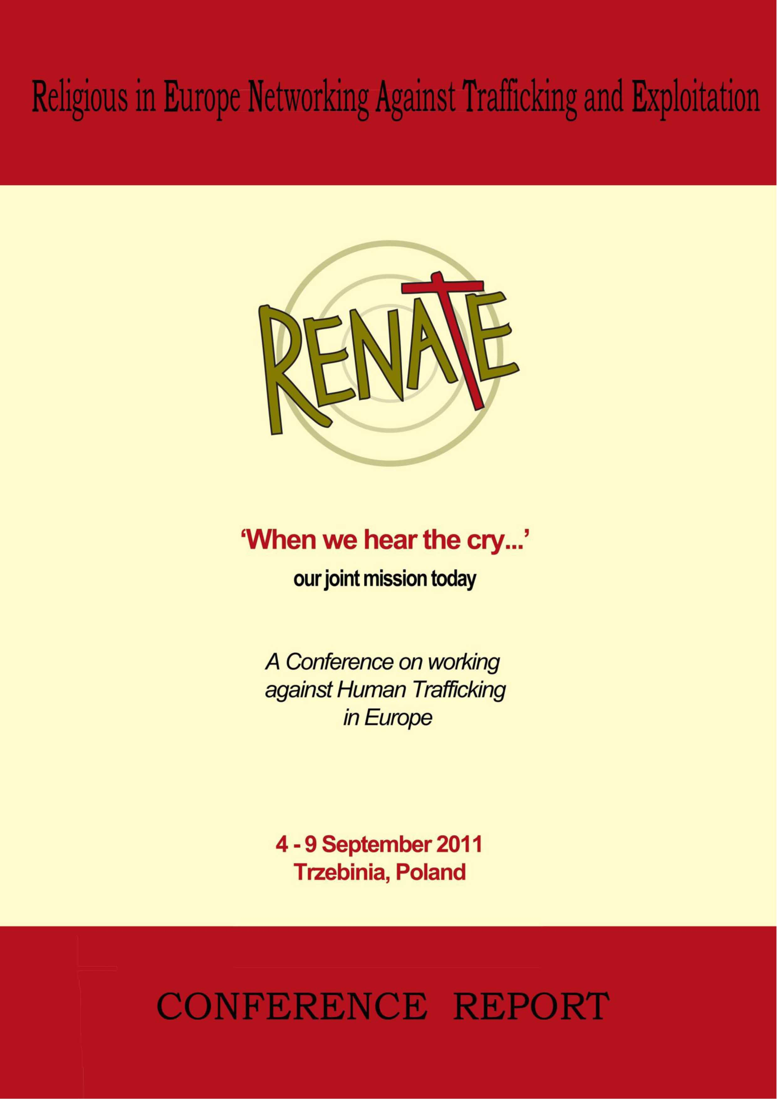 RENATE_conference_report