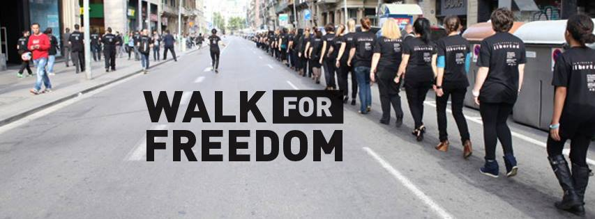 Walk for Freedom 2014, Hague, Netherlands