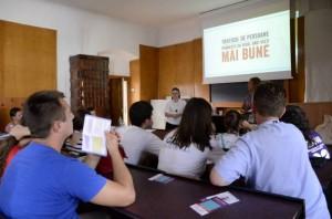 Workshop on Human Trafficking by SOLWODI Romania