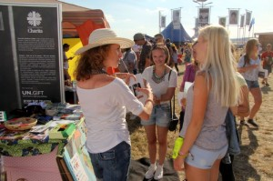 Raising awareness about HT at the POHODA Music Festival
