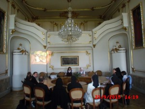 Meeting with Church representatives in the Ukraine, 22-26 September 2015