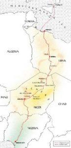 Map by La Tigre.